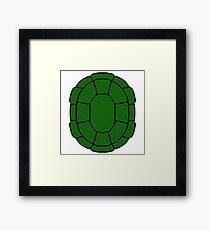 Turtle Shell Framed Print