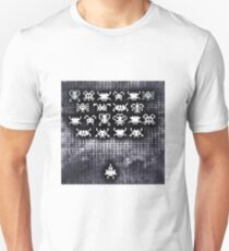 Digital space invaders Unisex T-Shirt