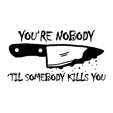 Nobody's knife by tase