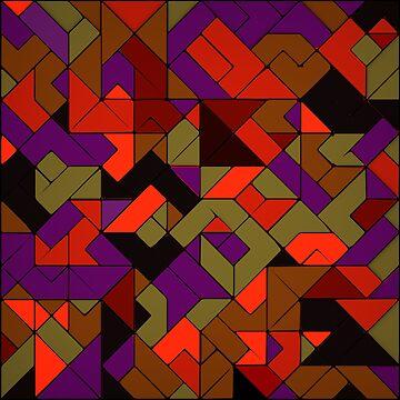 Geometric Pattern 5 by elektronen