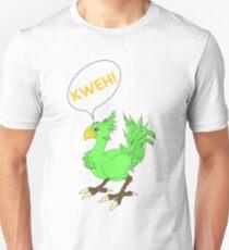 Chocobo KWEH! Green T-Shirt