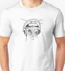 Spraycan Grafitti Man - Custom Drawing T-Shirt