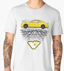 Yellow challenger Men's Premium T-Shirt