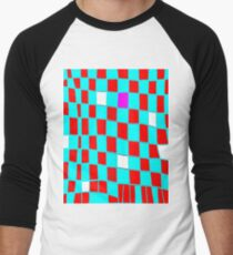 Funky gingham blue n red T-Shirt