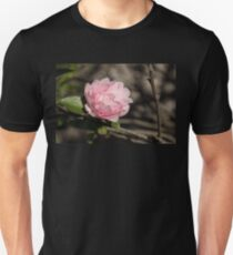 January Jewel - Solo Camellia in Soft Baby Pink  T-Shirt