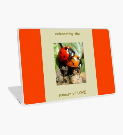 Celebrating the summer of LOVE Laptop Skin