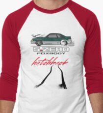 Green Hatchback Men's Baseball ¾ T-Shirt
