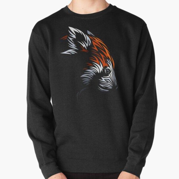 Tribal Red Panda Pullover Sweatshirt