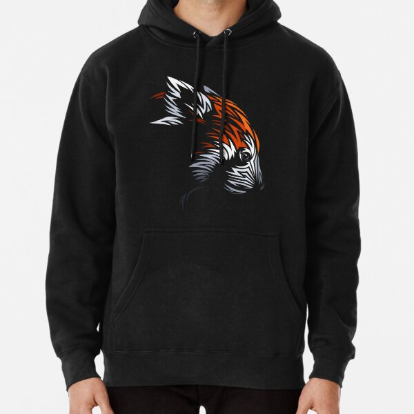 Tribal Red Panda Sudadera con capucha