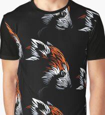 Tribal Red Panda Graphic T-Shirt