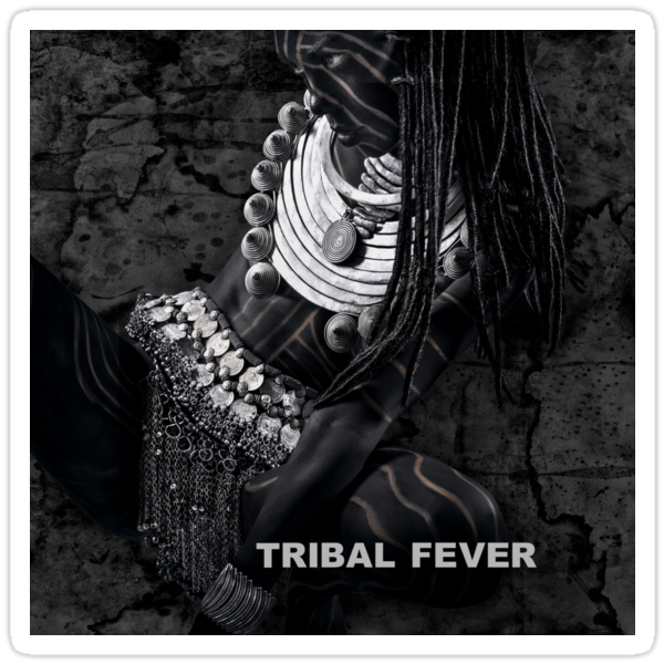 Tribal Fever - Sticker by Glen Allison