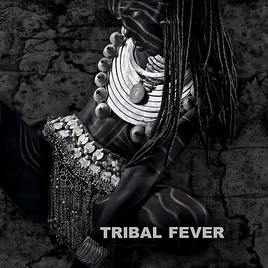 Tribal Fever - Metal Print by Glen Allison