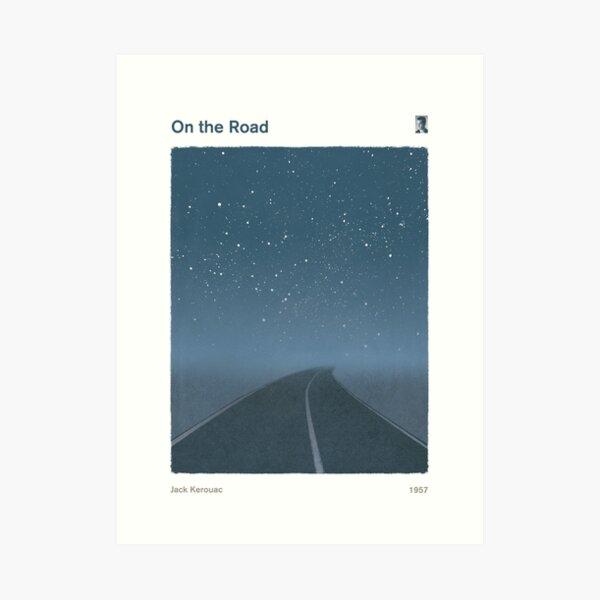 Jack Kerouac - On the Road Art Print