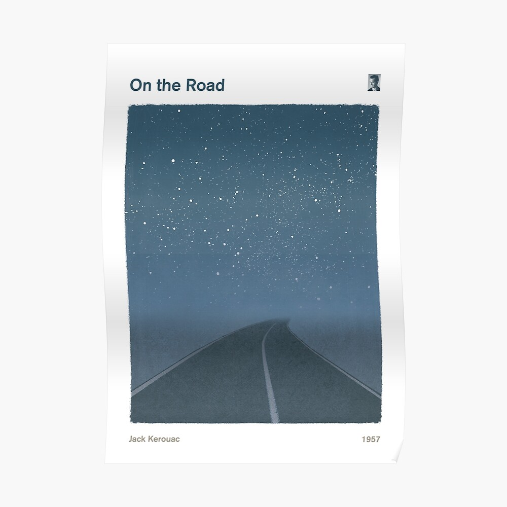Jack Kerouac - On the Road Poster