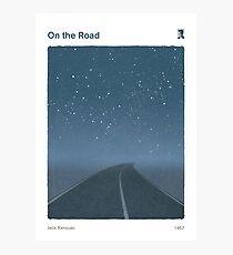 Jack Kerouac - On the Road Photographic Print