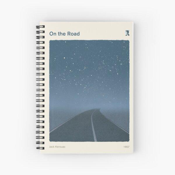Sur la route, Jack Kerouac Art littéraire pour les lecteurs et les écrivains. Cahier à spirale