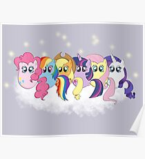 Pony Cloud Line Up Poster