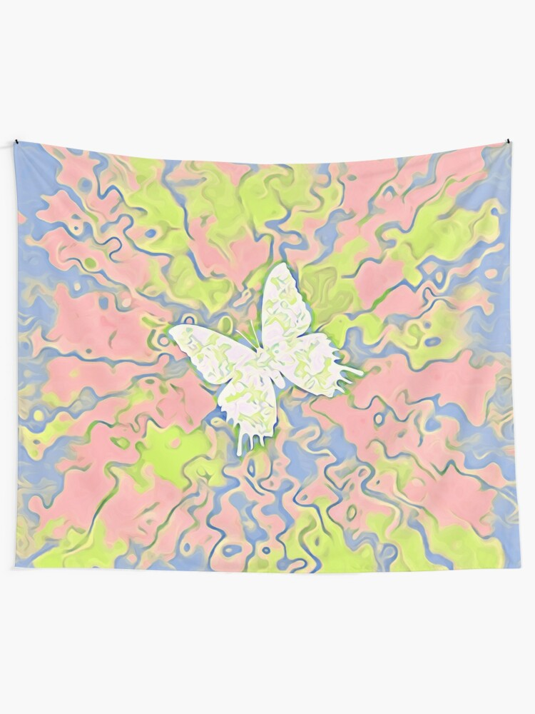 Alternate view of Butterfly Tapestry