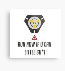 Run if you can Metal Print