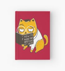 Avoid That Bastard at Work Hardcover Journal