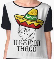 Mexican Thac0 Women's Chiffon Top