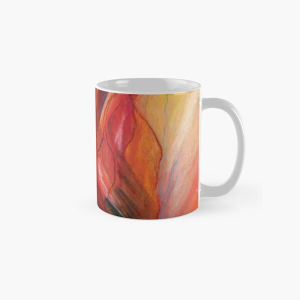 Abstract Colorful Celestial Planet River Classic Mug