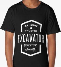Excavator Long T-Shirt