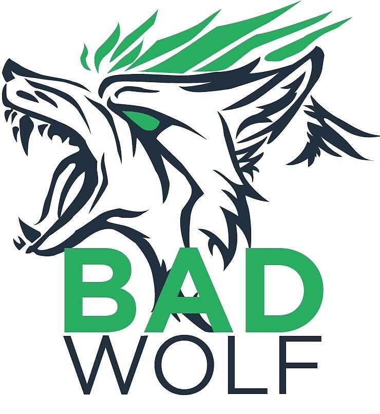 BADWOLF Logo Design by promiseTime