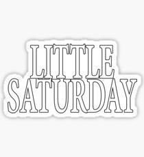 Little Saturday Sticker