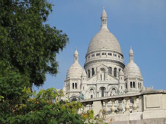 Sacre Coeur cathedral- Paris by chord0