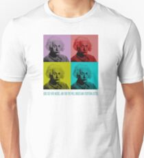 Relativity,curiosity and imagination Unisex T-Shirt