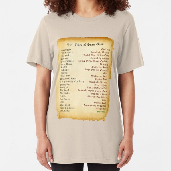 The Fates of Sean Slim Fit T-Shirt
