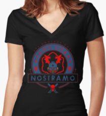 Nostramo - Elite Edition Women's Fitted V-Neck T-Shirt