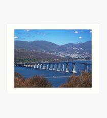 """Tasman Bridge, Hobart"" Art Print"