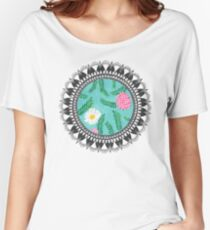 Floral Utopia Women's Relaxed Fit T-Shirt