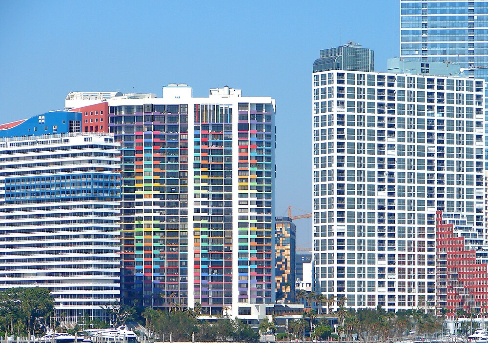Miami View from the Road by shadyuk