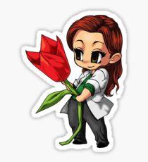 Sara Tancredi Origami Flower Sticker