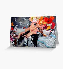 Ukrainian Beauty Greeting Card