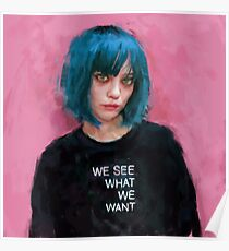 we see what we want  Poster