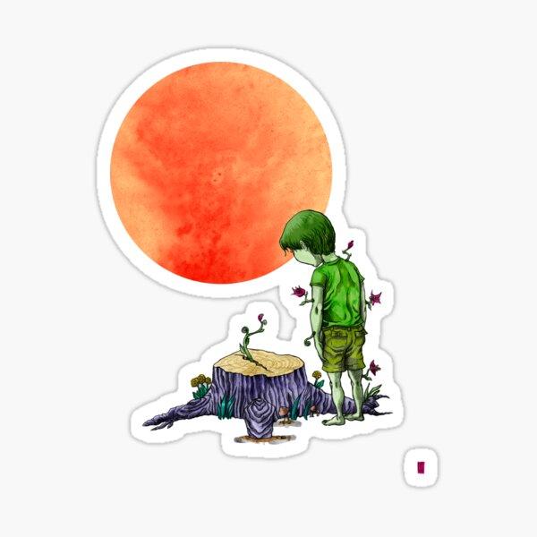 Tree-Boy Sticker