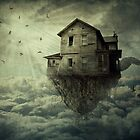 My Flying House by psychoshadow