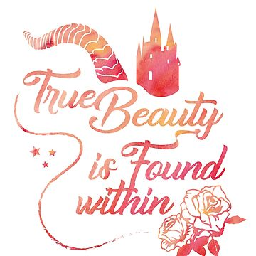 True beauty is found within. by paintingpanda