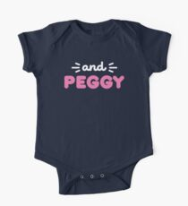 And Peggy Shirt from the Hamilton Broadway Musical  One Piece - Short Sleeve
