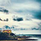 Sea, beach, house by Silvia Ganora