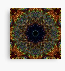 Chapel Mandala Canvas Print