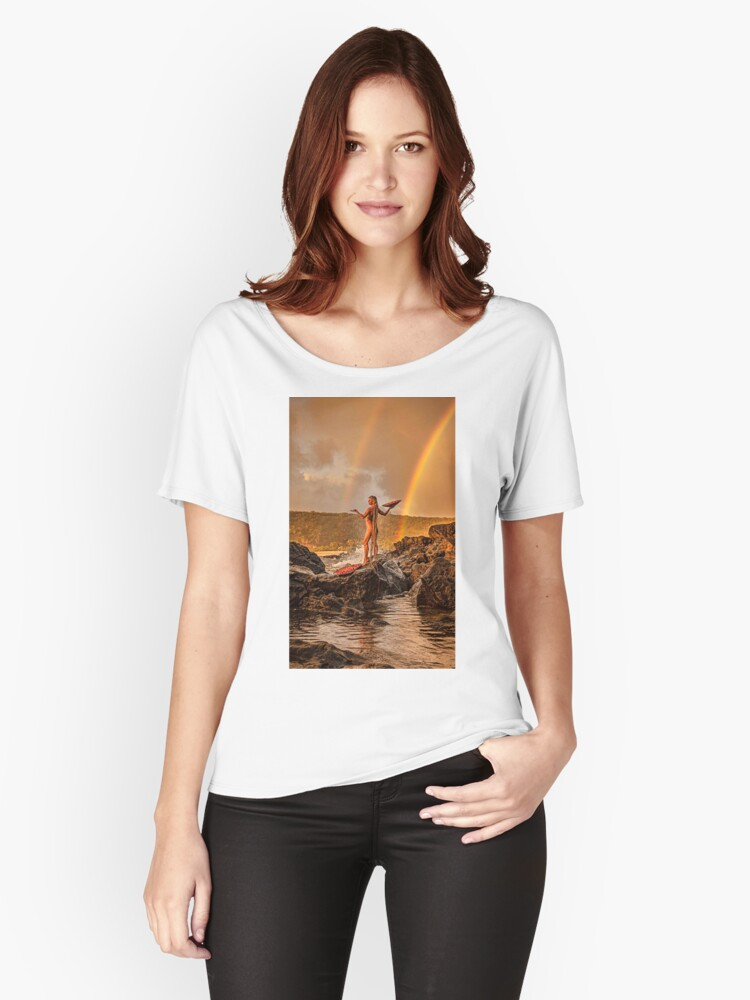 Rainbow Celebration revisited Women's Relaxed Fit T-Shirt Front