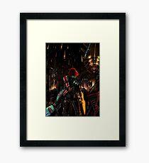 Mass Effect - Shepard told us... Framed Print