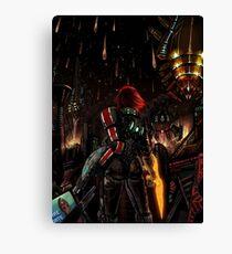 Mass Effect - Shepard told us... Canvas Print