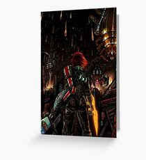 Mass Effect - Shepard told us... Greeting Card