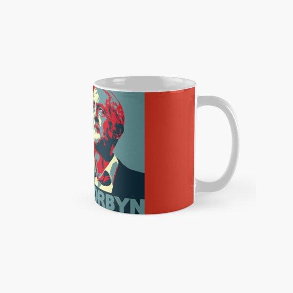 Jeremy Corbyn Portrait Classic Mug